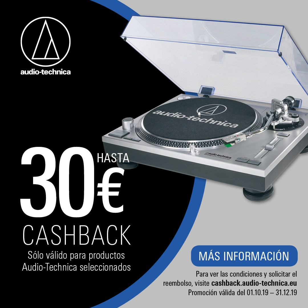 Audio-Technica AT-LP120XUSB giradiscos Cashback