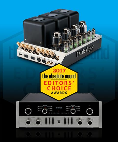 McIntosh C22 y MC275 Absolute Sound 2017 Editor's Choice