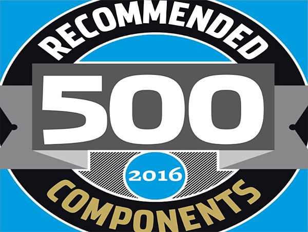 McIntosh MC275 Stereophile Recommended Components 2016